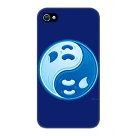 iPhone 4/4S Case Ghost Yinyang By John Schwegel Mobile phones