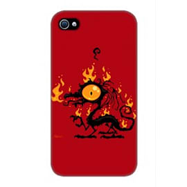 iPhone 4/4S Case Burn By John Schwegel Mobile phones
