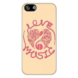 iPhone 5/5s Case Love Music_red By Sweaty Eskimo Mobile phones