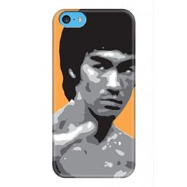 iPhone 5C Case Bruce Lee_2 By VA Iconic Hollywood Mobile phones
