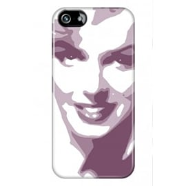 iPhone 5/5s Case Marylin_pink By VA Iconic Hollywood Mobile phones