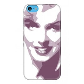 iPhone 5C Case Marylin_pink By VA Iconic Hollywood Mobile phones