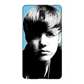 Samsung Galaxy Note 3 Case Justin Bieber Blue By VA Iconic Music Mobile phones