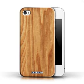 STUFF4 Phone Case/Cover for Apple iPhone 4/4S/Oak Design/Wood Grain Effect/Pattern Collection Mobile phones
