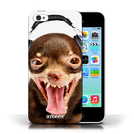 STUFF4 Phone Case/Cover for Apple iPhone 5C/Ridiculous Dog Design/Funny Animals Collection Mobile phones