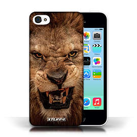 STUFF4 Phone Case/Cover for Apple iPhone 5C/Lion Design/Wildlife Animals Collection Mobile phones