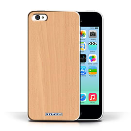 STUFF4 Phone Case/Cover for Apple iPhone 5C/Beech Design/Wood Grain Effect/Pattern Collection Mobile phones