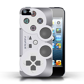 STUFF4 Phone Case/Cover for Apple iPhone 5/5S/Playstation PS1 Design/Games Console Collection Mobile phones
