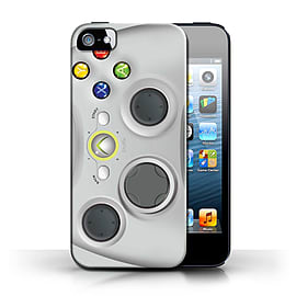 STUFF4 Phone Case/Cover for Apple iPhone 5/5S/White Xbox 360 Design/Games Console Collection Mobile phones
