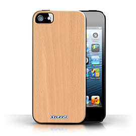 STUFF4 Phone Case/Cover for Apple iPhone 5/5S/Beech Design/Wood Grain Effect/Pattern Collection Mobile phones