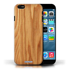 STUFF4 Phone Case/Cover for Apple iPhone 6/Oak Design/Wood Grain Effect/Pattern Collection Mobile phones