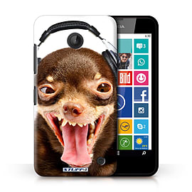 STUFF4 Phone Case/Cover for Nokia Lumia 635/Ridiculous Dog Design/Funny Animals Collection Mobile phones