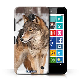STUFF4 Phone Case/Cover for Nokia Lumia 635/Wolf Design/Wildlife Animals Collection Mobile phones