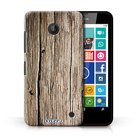STUFF4 Phone Case/Cover for Nokia Lumia 635/Driftwood Design/Wood Grain Effect/Pattern Collection Mobile phones