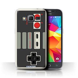 STUFF4 Phone Case/Cover for Samsung Galaxy Core Prime/Nintendo Classic Design/Games Console Mobile phones