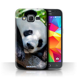 STUFF4 Phone Case/Cover for Samsung Galaxy Core Prime/Panda Bear Design/Wildlife Animals Collection Mobile phones