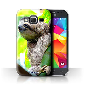 STUFF4 Phone Case/Cover for Samsung Galaxy Core Prime/Sloth Design/Wildlife Animals Collection Mobile phones