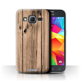 STUFF4 Phone Case/Cover for Samsung Galaxy Core Prime/Plank Design/Wood Grain Effect/Pattern Mobile phones