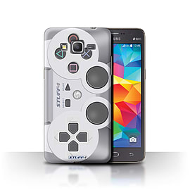 STUFF4 Phone Case/Cover for Samsung Galaxy Grand Prime/Playstation PS1 Design/Games Console Mobile phones