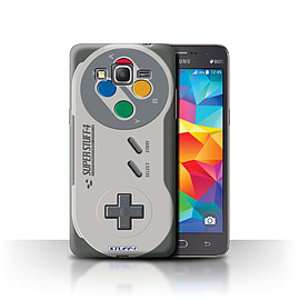 STUFF4 Phone Case/Cover for Samsung Galaxy Grand Prime/Super Nintendo Design/Games Console Mobile phones