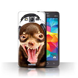 STUFF4 Phone Case/Cover for Samsung Galaxy Grand Prime/Ridiculous Dog Design/Funny Animals Mobile phones