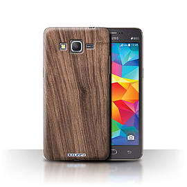 STUFF4 Phone Case/Cover for Samsung Galaxy Grand Prime/Walnut Design/Wood Grain Effect/Pattern Mobile phones