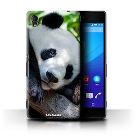 STUFF4 Phone Case/Cover for Sony Xperia M4 Aqua/Panda Bear Design/Wildlife Animals Collection Mobile phones