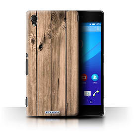 STUFF4 Phone Case/Cover for Sony Xperia M4 Aqua/Plank Design/Wood Grain Effect/Pattern Collection Mobile phones