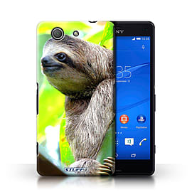 STUFF4 Phone Case/Cover for Sony Xperia Z3 Compact/Sloth Design/Wildlife Animals Collection Mobile phones