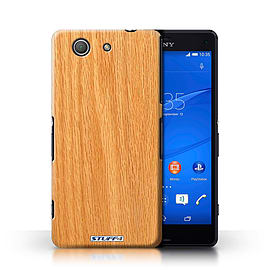 STUFF4 Phone Case/Cover for Sony Xperia Z3 Compact/Pine Design/Wood Grain Effect/Pattern Collection Mobile phones