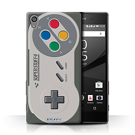 STUFF4 Phone Case/Cover for Sony Xperia Z5/5.2/Super Nintendo Design/Games Console Collection Mobile phones