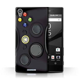 STUFF4 Phone Case/Cover for Sony Xperia Z5/5.2/Black Xbox 360 Design/Games Console Collection Mobile phones
