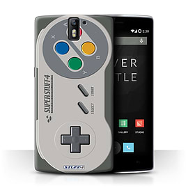 STUFF4 Phone Case/Cover for OnePlus One/Super Nintendo Design/Games Console Collection Mobile phones