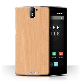 STUFF4 Phone Case/Cover for OnePlus One/Beech Design/Wood Grain Effect/Pattern Collection Mobile phones