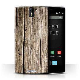 STUFF4 Phone Case/Cover for OnePlus One/Driftwood Design/Wood Grain Effect/Pattern Collection Mobile phones