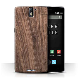 STUFF4 Phone Case/Cover for OnePlus One/Walnut Design/Wood Grain Effect/Pattern Collection Mobile phones