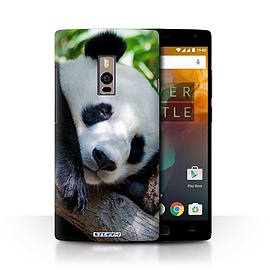 STUFF4 Phone Case/Cover for OnePlus 2/Two/Panda Bear Design/Wildlife Animals Collection Mobile phones