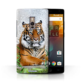 STUFF4 Phone Case/Cover for OnePlus 2/Two/Tiger Design/Wildlife Animals Collection Mobile phones