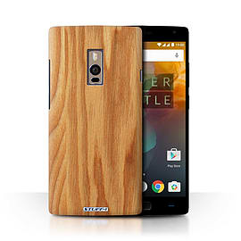 STUFF4 Phone Case/Cover for OnePlus 2/Two/Oak Design/Wood Grain Effect/Pattern Collection Mobile phones