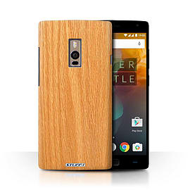 STUFF4 Phone Case/Cover for OnePlus 2/Two/Pine Design/Wood Grain Effect/Pattern Collection Mobile phones