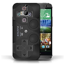STUFF4 Phone Case/Cover for HTC One/1 M8/Playstation PS3 Design/Games Console Collection Mobile phones