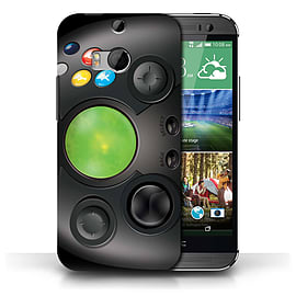 STUFF4 Phone Case/Cover for HTC One/1 M8/Xbox Design/Games Console Collection Mobile phones