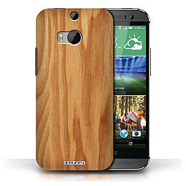 STUFF4 Phone Case/Cover for HTC One/1 M8/Oak Design/Wood Grain Effect/Pattern Collection Mobile phones