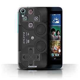 STUFF4 Phone Case/Cover for HTC Desire 626G+/Playstation PS3 Design/Games Console Collection Mobile phones