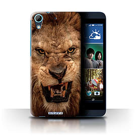 STUFF4 Phone Case/Cover for HTC Desire 626G+/Lion Design/Wildlife Animals Collection Mobile phones