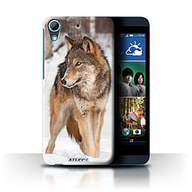 STUFF4 Phone Case/Cover for HTC Desire 626/Wolf Design/Wildlife Animals Collection Mobile phones