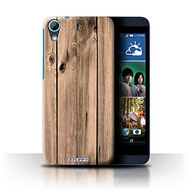 STUFF4 Phone Case/Cover for HTC Desire 626/Plank Design/Wood Grain Effect/Pattern Collection Mobile phones