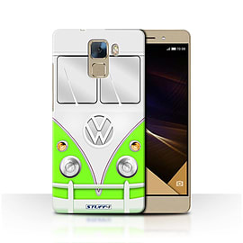 STUFF4 Phone Case/Cover for Huawei Honor 7/Green Design/VW Camper Van Collection Mobile phones