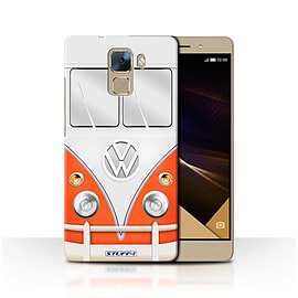STUFF4 Phone Case/Cover for Huawei Honor 7/Red Design/VW Camper Van Collection Mobile phones