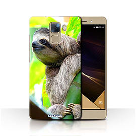 STUFF4 Phone Case/Cover for Huawei Honor 7/Sloth Design/Wildlife Animals Collection Mobile phones